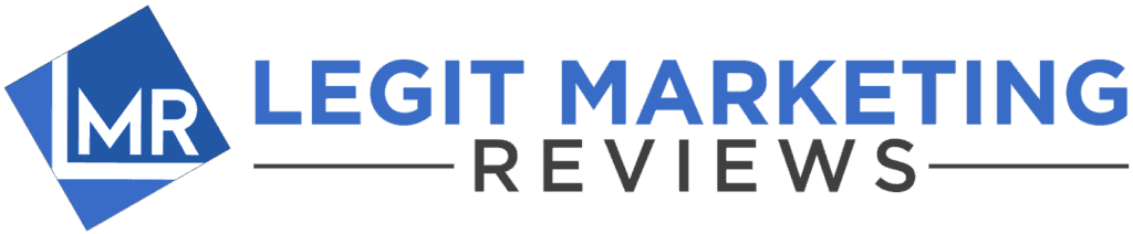 Legit Marketing Reviews Logo