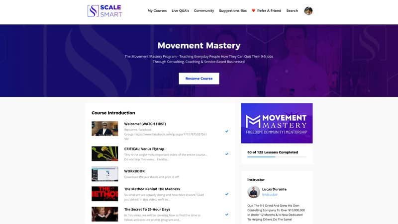 Movement Mastery Review